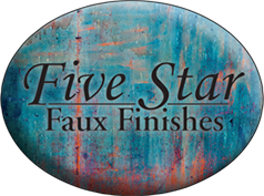 Five Star Faux Finishes Footer Logo
